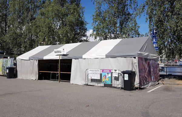 5x12m teltta narikka